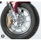 【MOTOMASTER】Moto Master 火焰型煞車碟盤