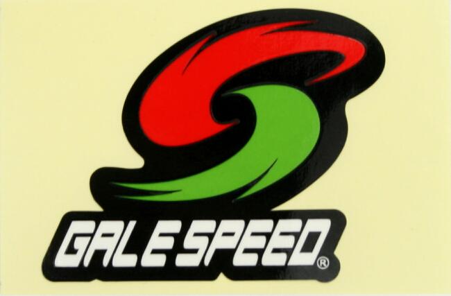 【GALE SPEED】LOGO貼紙 - 「Webike-摩托百貨」