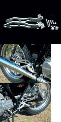 【COERCE】後座腳踏支架套件 - 「Webike-摩托百貨」