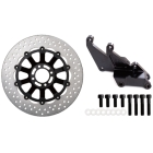SUNSTAR TradTYPE - 2 Front disk rotor and Caliper support set