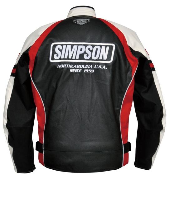 【SIMPSON】皮革外套 (SJ-2134) - 「Webike-摩托百貨」