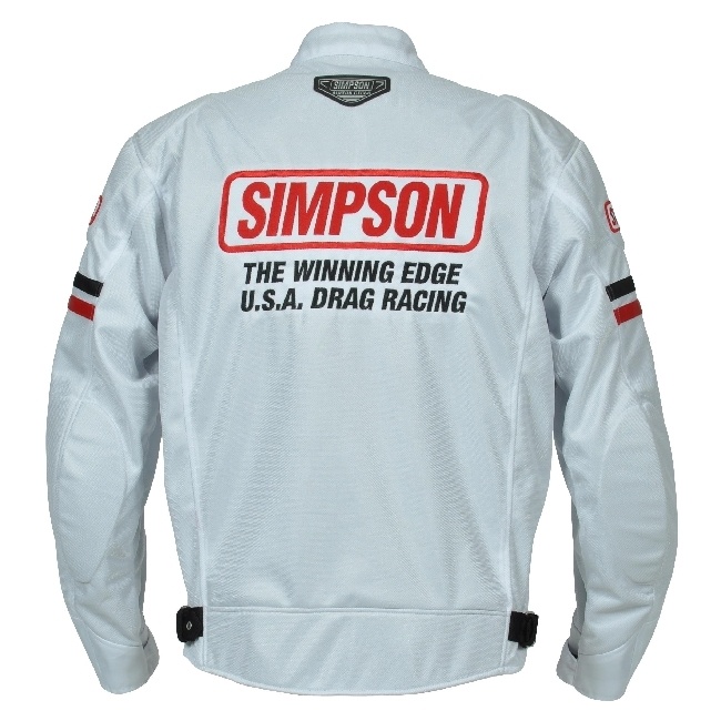 【SIMPSON】網格外套(車衣) SJ-3118 - 「Webike-摩托百貨」