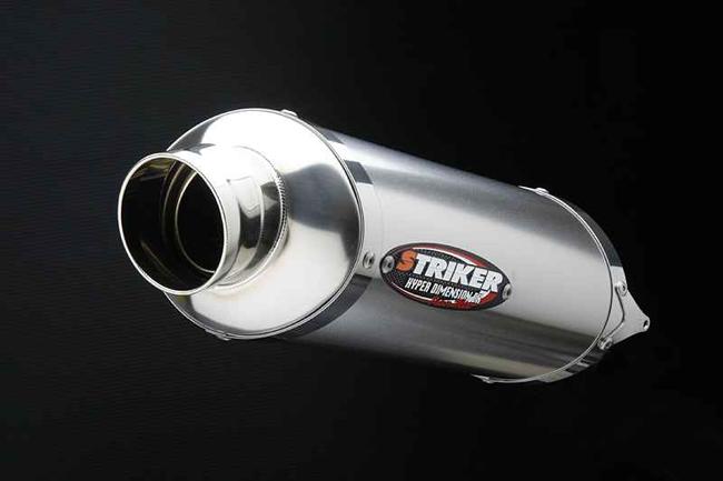 Power mini 維修用Racing鈦合金加農砲型式排氣管尾段