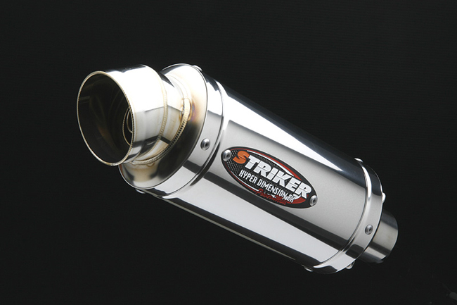 Power mini 維修用Street橢圓不鏽鋼排氣管尾段