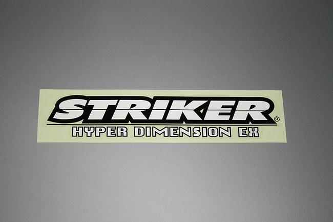 【STRIKER】貼紙大 - 「Webike-摩托百貨」