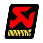 【AKRAPOVIC】耐熱消音器貼紙 - 「Webike-摩托百貨」