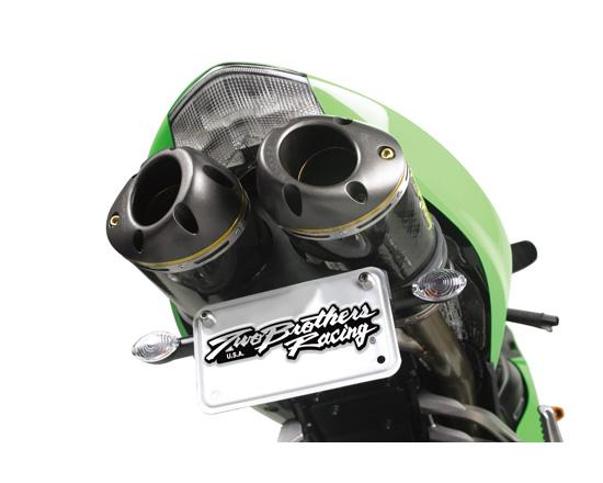 【Two Brothers Racing】Dual M2 鈦合金排氣管尾段 - 「Webike-摩托百貨」