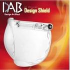 【JP Moto-Mart】DAB Design 安全帽鏡片 火焰紋 透明