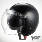 【JP Moto-Mart】Vrage 四分之三安全帽(霧黑)