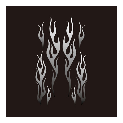 Fire pattern・貼紙