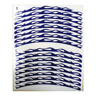 Circle Line輪框貼紙
