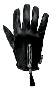U - rele 拉鍊皮革手套