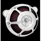 【PerformanceMachine】Touring用 MAX HP 空氣濾清器 (鍍鉻)
