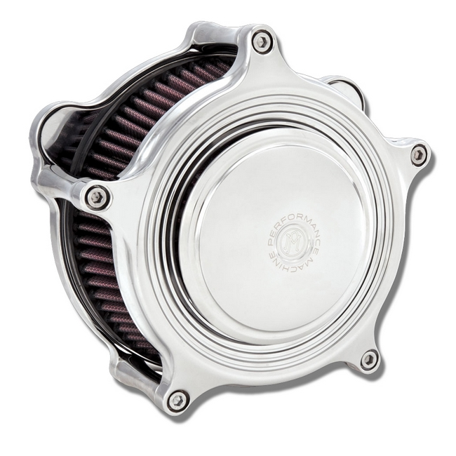 Sportster用 Merc 空氣濾清器 (鍍鉻)