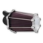 【PerformanceMachine】Big Twin用 FASTair Intake空氣濾清器(鍍鉻&Contrast-Cut)