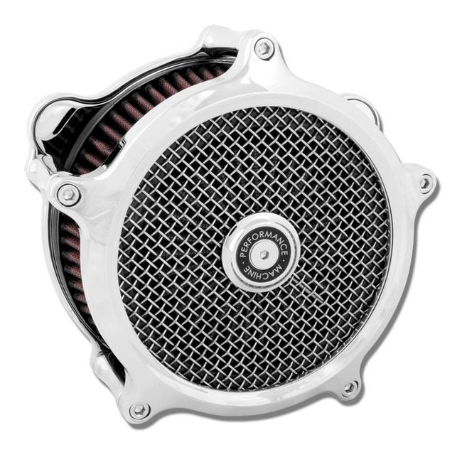 Sportster用 Super Gas 空氣濾清器 (鍍鉻)