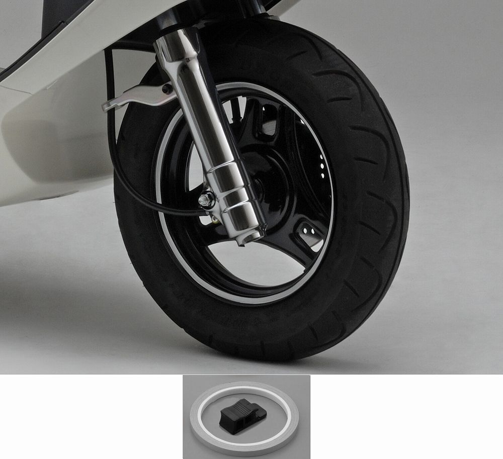 【PRO GRIP】輪框貼紙(反射白) - 「Webike-摩托百貨」