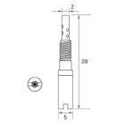 【Mikuni】TM P/J VM28/486 #55 油針