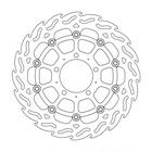 【MOTOMASTER】不銹鋼火焰型煞車碟盤 前用