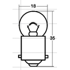 【STANLEY-Japan】牌照燈用燈泡 吸塑包裝