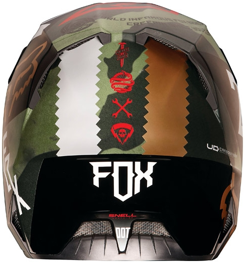 【FOX】V4 MAKINA 越野安全帽 - 「Webike-摩托百貨」