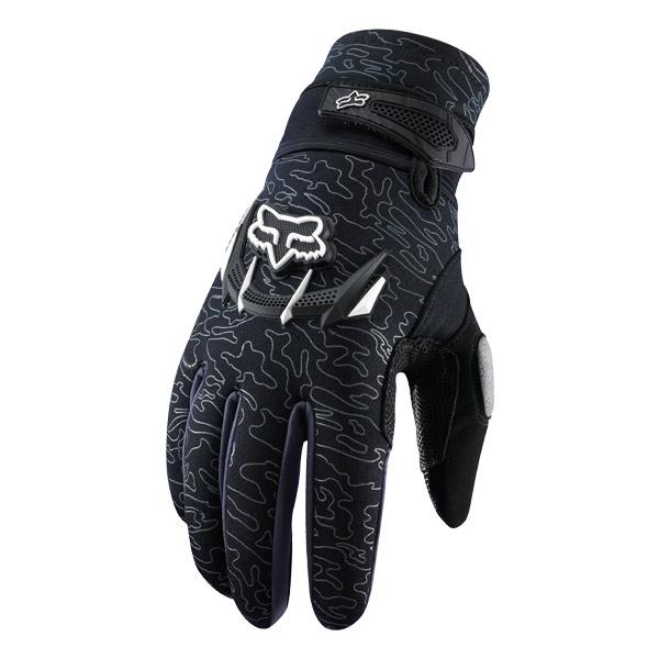 FOX冬季保暖越野手套