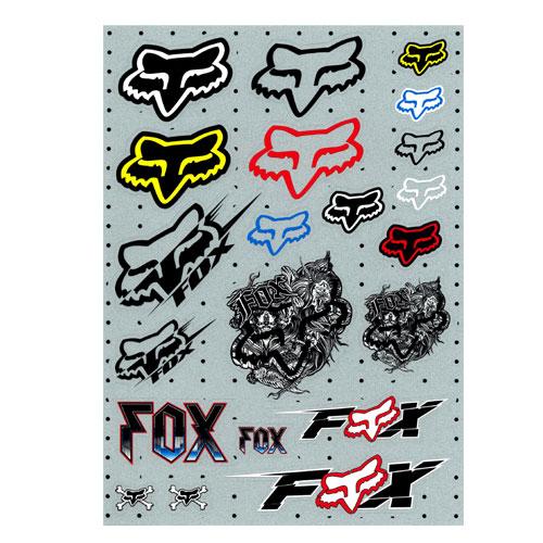 FOX Head 貼紙組