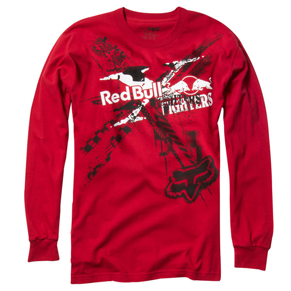 【FOX】FOX RedBull X-Fight Exposed L/S T恤 - 「Webike-摩托百貨」