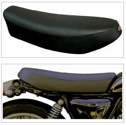【K&H】短雙座坐墊 (厚型 Type A 車邊 Semi-order) - 「Webike-摩托百貨」