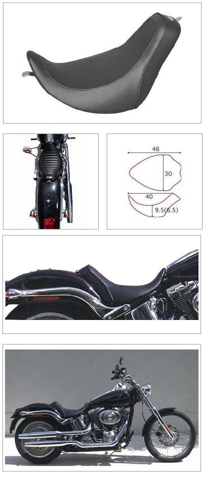 【K&H】單坐墊 素面  - 「Webike-摩托百貨」
