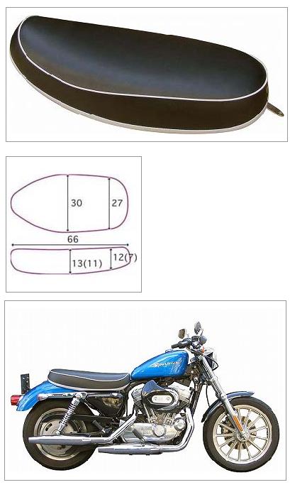 【K&H】Sport Double C素面 坐墊<Semi-order> - 「Webike-摩托百貨」