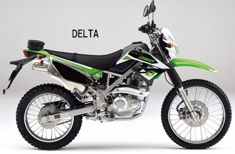 【ONE Industries】DELTA 彩繪車身貼紙 - 「Webike-摩托百貨」