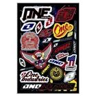 【ONE Industries】4MIL LOGO SHEET套裝貼紙組