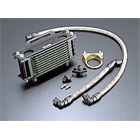 ACTIVE Straight Oil Cooler Kit Black