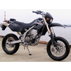 Techserfu SuperMoto (Super Moto) Slip - on Muffler