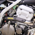 Techserfu SuperMoto ( 640 LC 4 SUPERMOTO ) Exhaust pipe