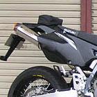 【techserfu】SuperMoto 排氣管尾段 碳纖維尾蓋