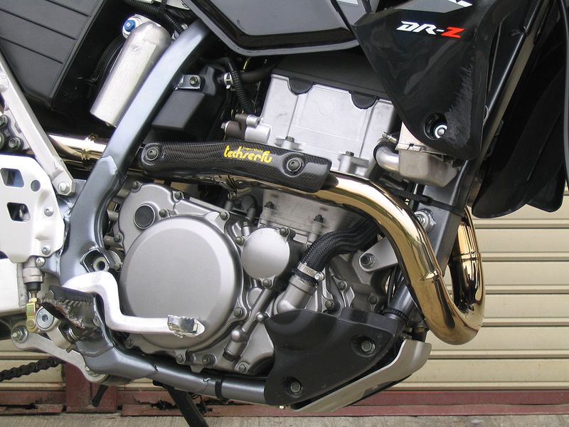SuperMoto 排氣接管