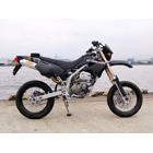 Techserfu SuperMoto (Super Moto) Trek Slip - on Muffler