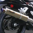 【PRO DRAG】鈦合金全段排氣管 (金色消音器)