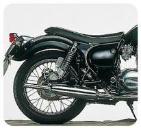 Triumph型式排氣管