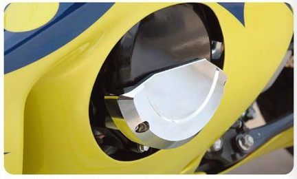 【POSH】引擎保護蓋(左) - 「Webike-摩托百貨」