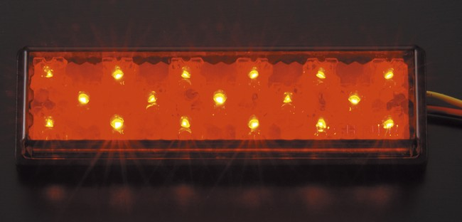 【POSH】PasteLED方型尾燈  - 「Webike-摩托百貨」
