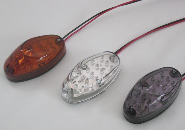 Aero LED 方向燈 橢圓 型式