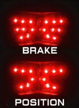 【POSH】LED尾燈 - 「Webike-摩托百貨」