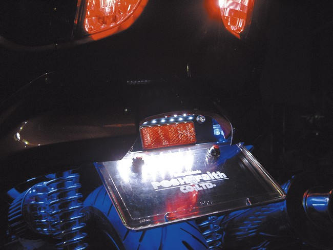 【POSH】後無土除型式套件 LED牌照燈樣式 - 「Webike-摩托百貨」