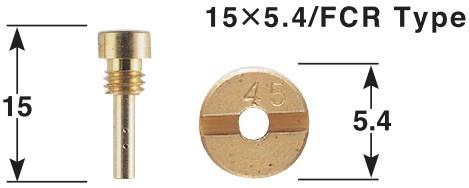 KEIHIN FCR/CVK 化油器用副油嘴