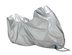 銀色防火型摩托車罩