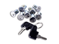 鑰匙組套(後箱、側行李箱組 同時装著時用 8個組套)