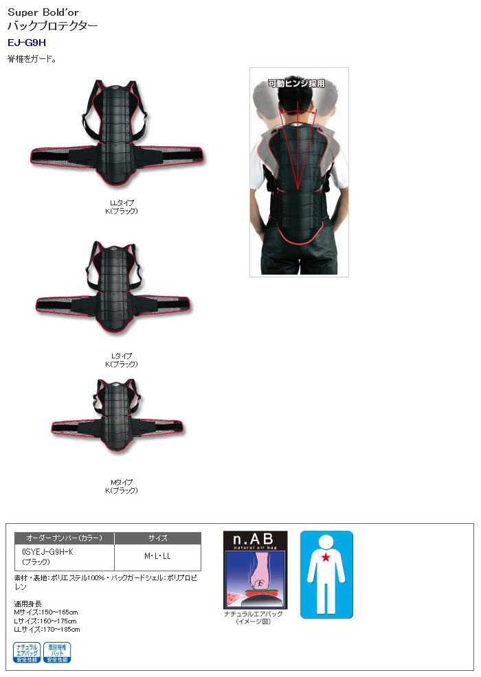 【HONDA RIDING GEAR】護背板 - 「Webike-摩托百貨」